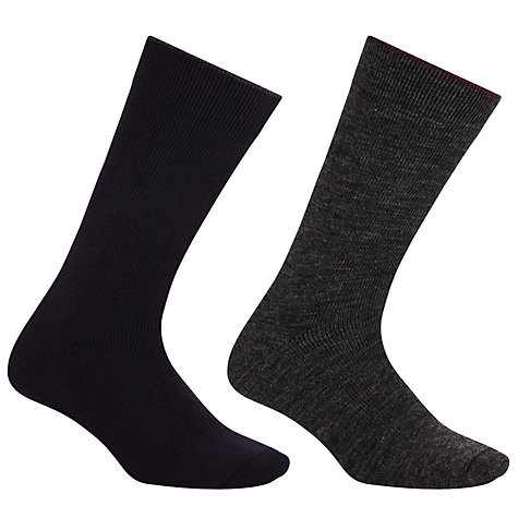Buy John Lewis Thermal Wool Socks, Pack of 2 Online at johnlewis.com