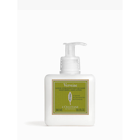 Buy L'Occitane Verbena Hand Lotion, 250ml Online at johnlewis.com