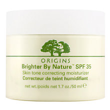 Buy Origins Brighter By Nature SPF35 Moisturiser, 50ml Online at johnlewis.com