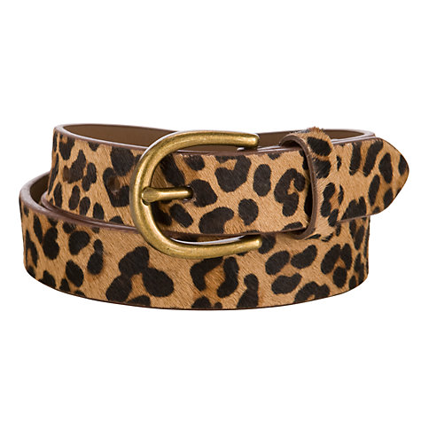Buy John Lewis Women Textured Hair On Medium Belt Online at johnlewis.com