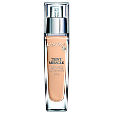 Buy Lancôme Teint Miracle Foundation SPF15 Online at johnlewis.com