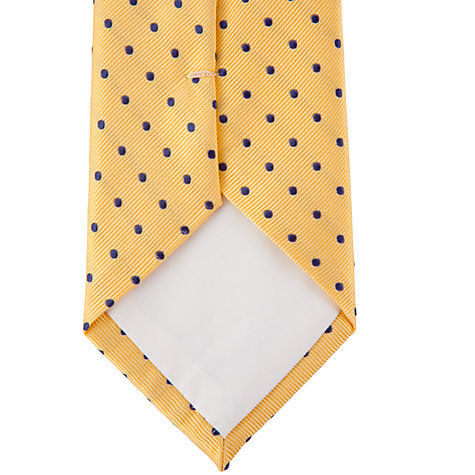 Buy John Lewis Coloured Spots Tie Online at johnlewis.com