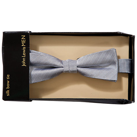 Buy John Lewis Herringbone Bow Tie Online at johnlewis.com