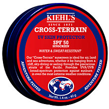 Buy Kiehl's Cross-Terrain UV Face Protector SPF 50, 40g Online at johnlewis.com