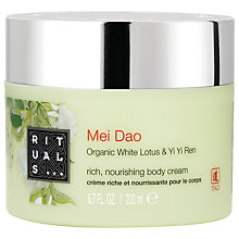 Buy Rituals Mei Dao Body Cream, 200ml Online at johnlewis.com