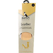 Buy Boston Leather Insoles Online at johnlewis.com