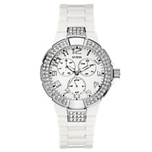Buy Guess W13564L1 Women's Prism Chronograph Watch Online at johnlewis.com