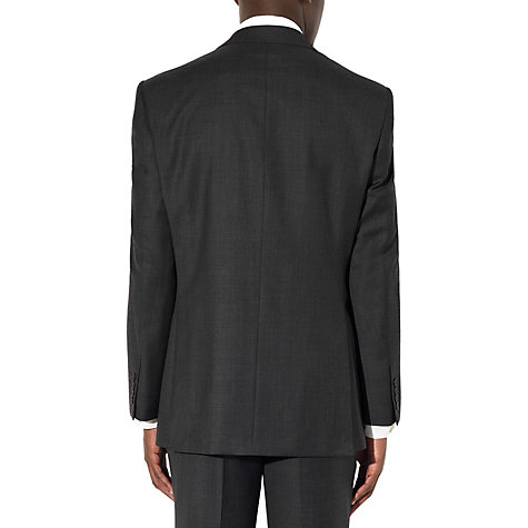 Buy John Lewis Regular Fit Sharkskin Suit Jacket, Charcoal Online at johnlewis.com