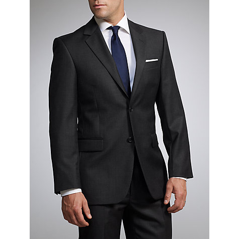 Buy John Lewis Sharkskin Suit, Charcoal Online at johnlewis.com