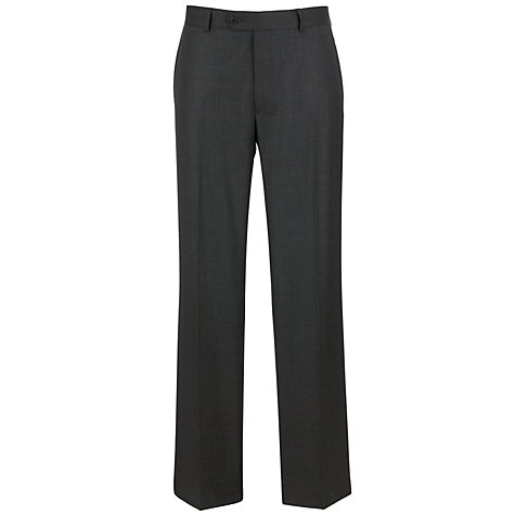 Buy John Lewis Sharkskin Suit Trousers, Charcoal Online at johnlewis.com