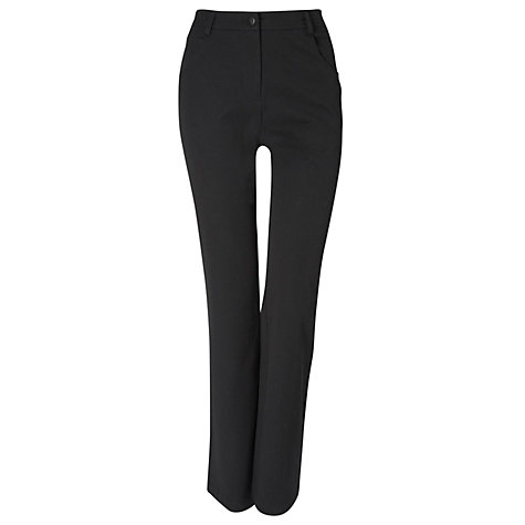 Buy Viyella Front Pocket Smart Jeans, L32, Black Online at johnlewis.com