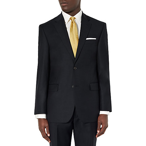 Buy John Lewis Sharkskin Suit Trousers, Navy Online at johnlewis.com