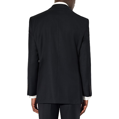 Buy John Lewis Regular Fit Sharkskin Suit Jacket, Navy Online at johnlewis.com