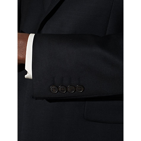 Buy John Lewis Sharkskin Suit Jacket, Navy Online at johnlewis.com
