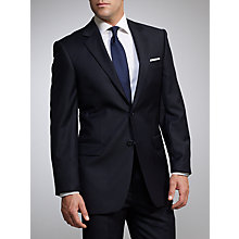 Buy John Lewis Sharkskin Suit, Navy Online at johnlewis.com