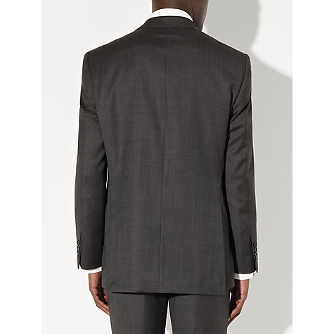 Buy John Lewis Mini Birdseye Suit Trousers, Charcoal Online at johnlewis.com