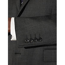 Buy John Lewis Regular Fit Bobby Mini Birdseye Suit Jacket, Charcoal Online at johnlewis.com