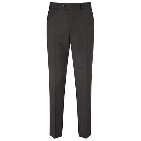 Buy John Lewis Bobby Mini Birdseye Suit, Charcoal Online at johnlewis.com