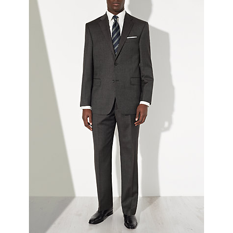 Buy John Lewis Bobby Mini Birdseye Suit Trousers, Charcoal Online at johnlewis.com