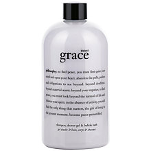 Buy Philosophy Inner Grace Shower Gel, 480ml Online at johnlewis.com