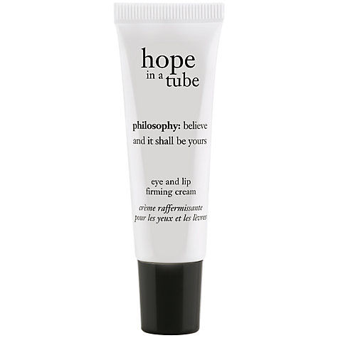 Buy Philosophy Hope in a Tube Eye & Lip Cream, 14ml Online at johnlewis.com