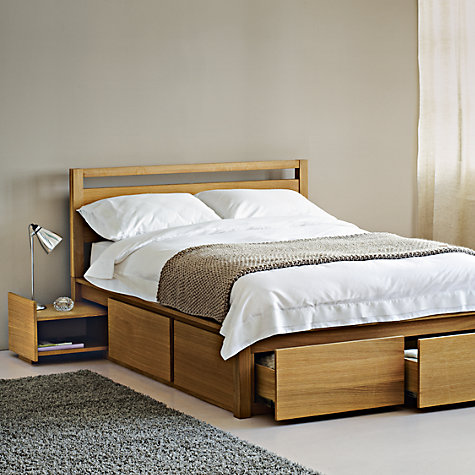 Buy John Lewis Sullivan Storage Beds, Kingsize Online at johnlewis.com