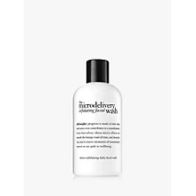 Buy Philosophy The Microdelivery Exfoliating Wash, 240ml Online at johnlewis.com