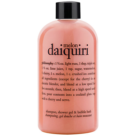 Buy Philosophy Melon Daquiri 3 in 1 Shower Gel, 480ml Online at johnlewis.com