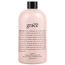 Buy Philosophy Amazing Grace Shower Gel, 480ml Online at johnlewis.com