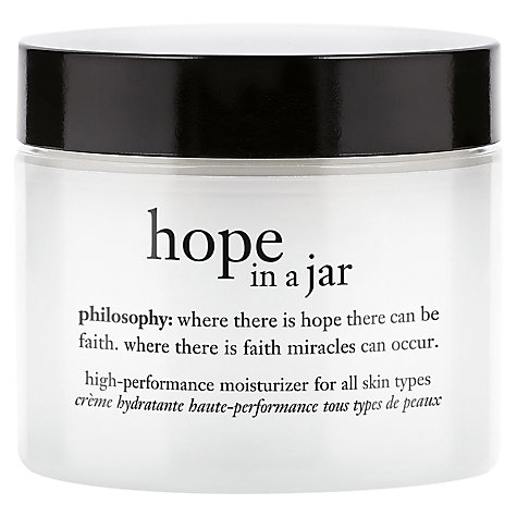 Buy Philosophy Hope In a Jar, All Skin Types, 60ml Online at johnlewis.com