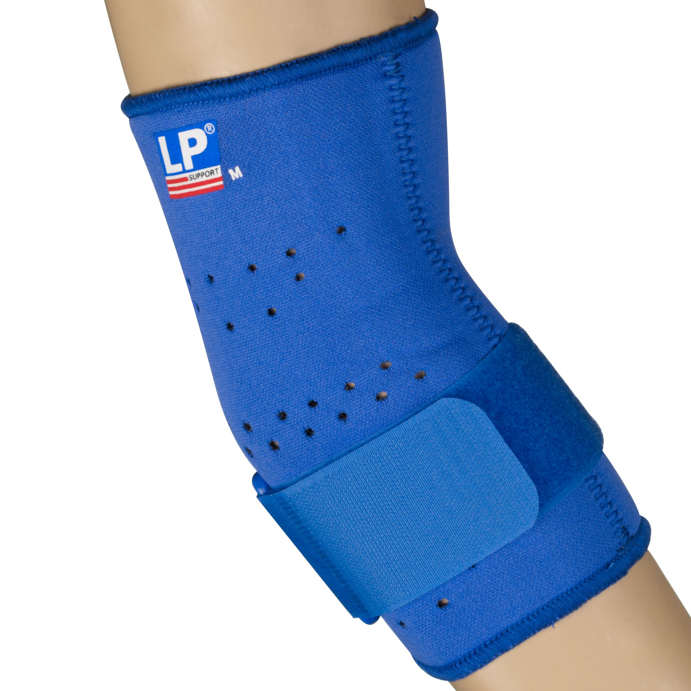 Lp Supports LP Supports Neoprene Tennis Elbow Support with Strap, Blue