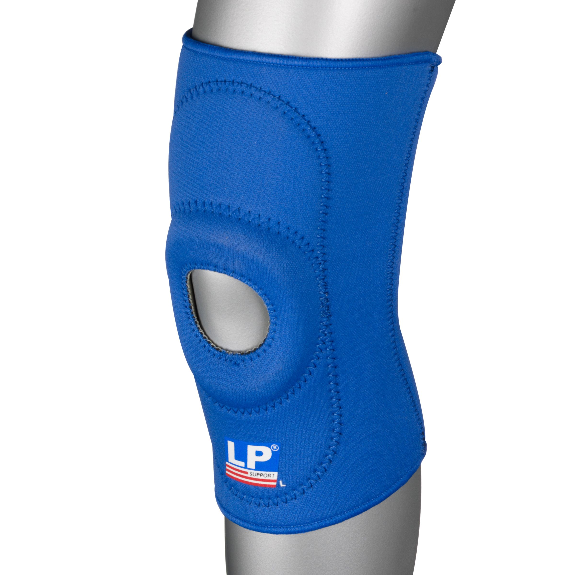 Lp Supports LP Supports Neoprene Open Knee Support, Blue