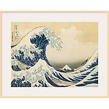 Buy Katsushika Hokusai - The Great Wave off Kanagawa Online at johnlewis.com