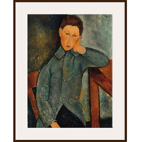 Buy Modigliani - Youth in Blue Jacket Online at johnlewis.com