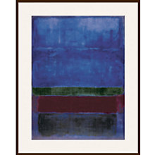 Buy Rothko - Blue, Green and Brown Online at johnlewis.com