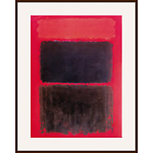 Buy Rothko - Light Red Over Online at johnlewis.com