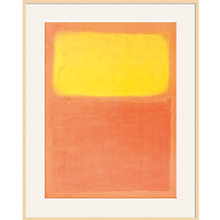 Buy Rothko - Orange and Yellow Online at johnlewis.com