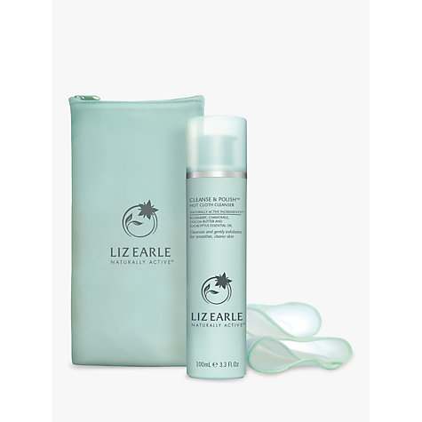 Buy Liz Earle Cleanse & Polish™ Hot Cloth Cleanser, 100ml with 2 Muslin Cloths Online at johnlewis.com