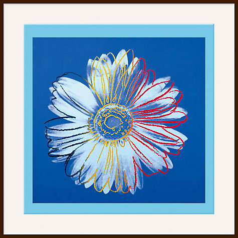Buy Warhol - Daisy 1982, Blue on Blue Online at johnlewis.com