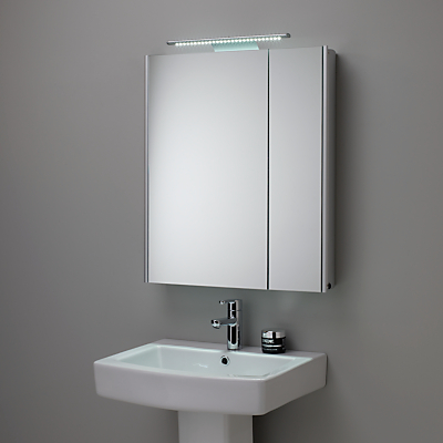 Roper Rhodes Refine Illuminated Double Mirrored Bathroom Cabinet
