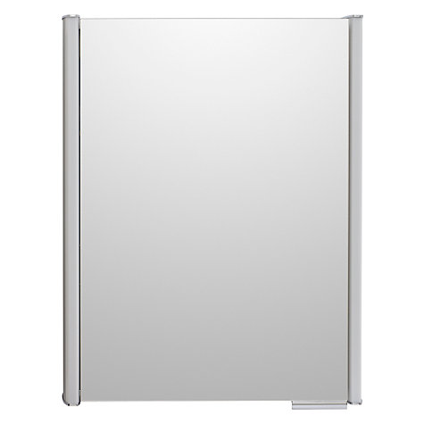Buy John Lewis Plateau Illuminated Single Bathroom Cabinet with