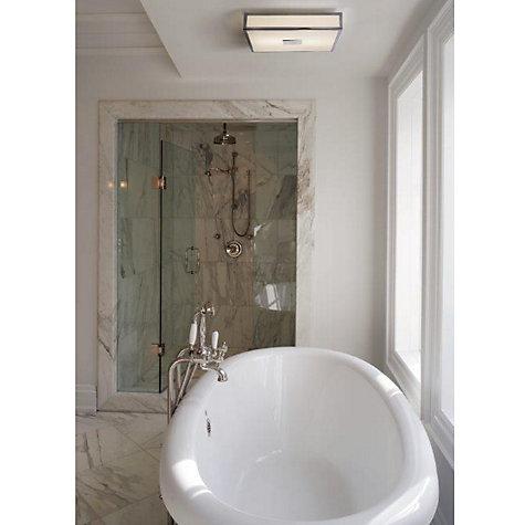 Unique Buy ASTRO Arezzo Flush Bathroom Ceiling Light  John Lewis