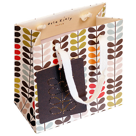 Buy Orla Kiely, Multi Stem Gift Bag Online at johnlewis.com