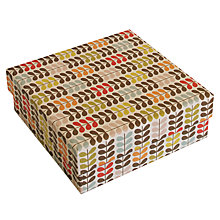 Buy Orla Kiely, Multi Stem Square Box Online at johnlewis.com