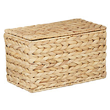 Buy John Lewis Water Hyacinth Storage Box Online at johnlewis.com