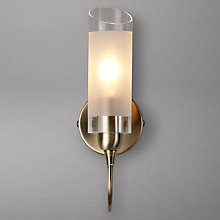 Buy John Lewis Limbo Wall Light, Antiqued Brass Online at johnlewis.com