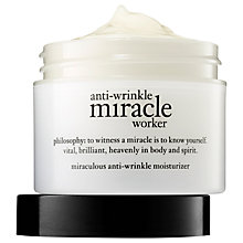 Buy Philosophy Miracle Worker Miraculous Anti-Ageing Moisturiser, 56ml Online at johnlewis.com
