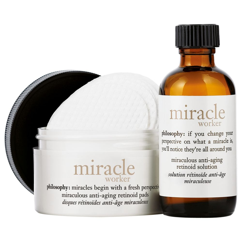 Philosophy Philosophy Miracle Worker Miraculous Anti-Ageing Retinoid Pads & Solution
