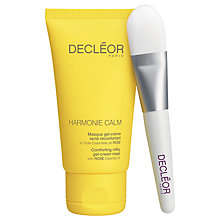 Buy Decléor Harmonie Calm Comforting Milky Gel-Cream Mask, 40ml Online at johnlewis.com
