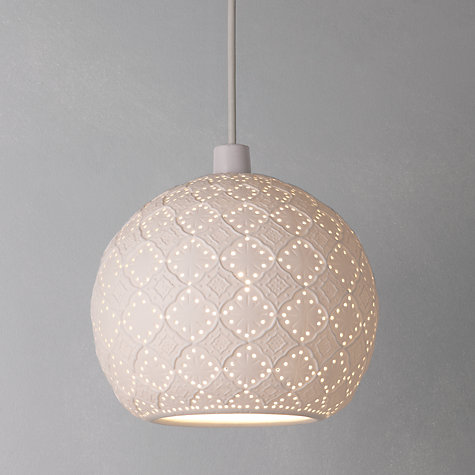 Buy John Lewis Easy-to-fit Salima Ceiling Shade Online at johnlewis.com